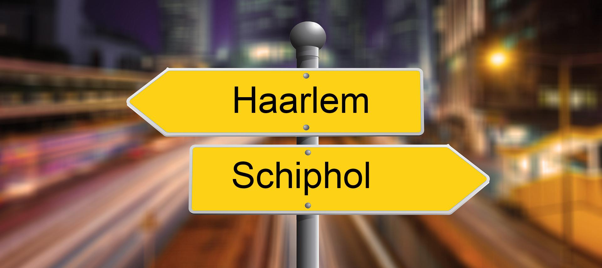 Schiphol Haarlem taxi